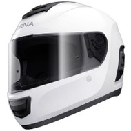 Sena Momentum Bluetooth Full Face Helmet - Gloss White
