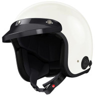 Sena Savage Bluetooth Open Face Helmet - Gloss White