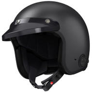 Sena Savage Bluetooth Open Face Helmet - Matte Black
