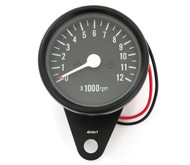 Mini Tachometer - Black - 1:7