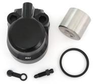 Front Brake Caliper Kit w/Stainless Piston - Honda CB350F/360/400F/500/550
