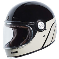 Torc T1 Helmet - Dreamlinner  Gloss Black / Tan