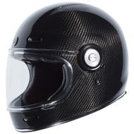 Torc T1 Helmet - Gloss Black Trans Carbon