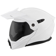 Scorpion EXO AT950 Helmet - Solid Gloss White