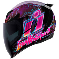Icon Airflite Synthwave Helmet - Purple