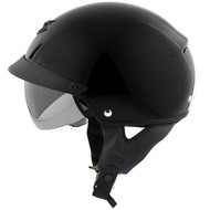 Scorpion EXO C110 Helmet - Solid Gloss Black