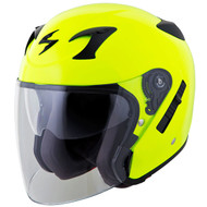 Scorpion EXO CT220 Helmet - Solid Neon