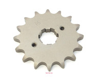 Parts Unlimited Front Sprocket - 530 - 16T - Honda CB/CL/SL/XL350 CB/CJ/CL360 CB/CM400 CB/CL/CM450 CB500T