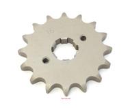 Parts Unlimited Front Sprocket - 530 - 16T - Honda CB/CL/SL/XL350 CB/CJ/CL360 CB/CM400 CB/CL/CM450 CB500T