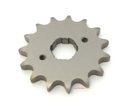 Parts Unlimited Front Sprocket - 530 - 15T - Honda Honda CB/CL/SL/XL350 CB/CJ/CL360 CB/CM400 CB/CL/CM450 CB500T