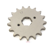 Parts Unlimited Front Sprocket - 530 - 17T - Honda CB/CL/SL/XL350 CB/CJ/CL360 CB/CM400 CB/CL/CM450 CB500T