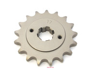 Parts Unlimited Front Sprocket - 530 - 17T - Honda CB500 CB550 CB750