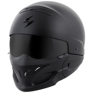 Scorpion Covert Helmet - Solid Matte Black