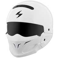 Scorpion Covert Helmet - Solid Gloss White