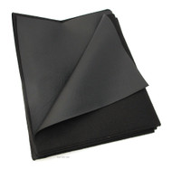 "Texhide Vinyl Motorcycle Seat Cover Material - Matte Black - 24"" x 36"""