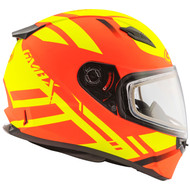 GMAX FF49 Berg Snow Helmet - Hi-Vis Orange / Yellow