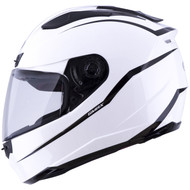 GMAX FF88 Precept Helmet - White / Black