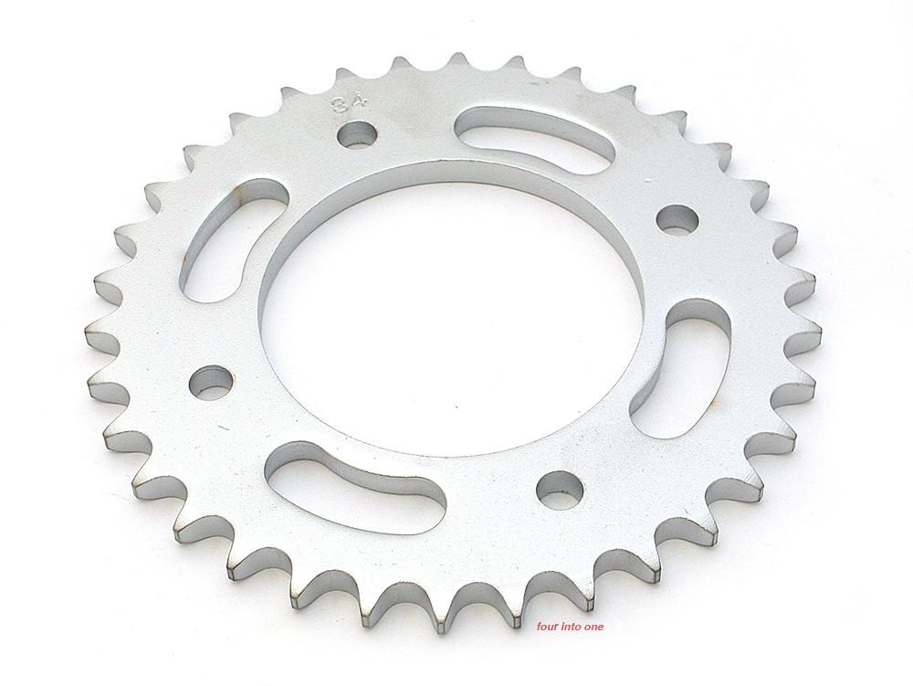Parts Unlimited Rear Sprocket - 530 - 34T - Honda CB500 CB550