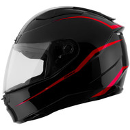 GMAX FF88 Precept Helmet - Black / Red