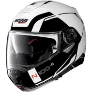 Nolan N100-5 Consistency Helmet - Metallic White