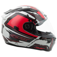 GMAX FF88 X-Star Helmet - White / Red