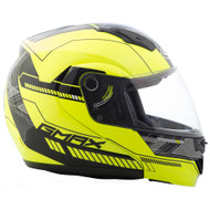 GMAX MD04 Helmet - Hi-Vis Yellow / Black