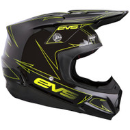 EVS T5 Pinner Helmet - Black / Hi-Vis Yellow