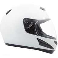 GMAX GM38 Full Face Street Helmet - White