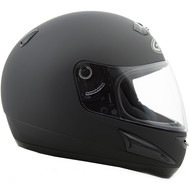 GMAX GM38 Full Face Street Helmet - Matte Black