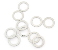 Aluminum Crush Washers - 10 Pack - 10mm