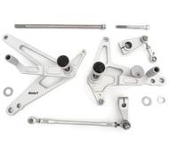 TTR400 Rearsets - Matte Silver - Honda CB400F