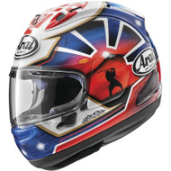 Arai Corsair-X Dani Samurai-2 Helmet - Blue / Red
