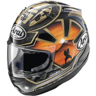 Arai Corsair-X Dani Samurai-2 Helmet - Black / Orange