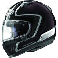 Arai Defiant-X Outline Helmet - Black / Dark Purple