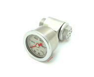 Joker Machine CB750 Oil Pressure Gauge Assembly - Clear