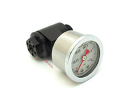 Joker Machine CB750 Oil Pressure Gauge Assembly - Black