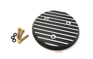 Joker Machine CB750 Alternator Cover - Black Finned