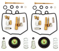 Deluxe Carburetor Rebuild Kit w/ Air Cut Off Valves - Honda CM400A/T - 1979