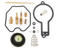 Deluxe Carburetor Rebuild Kit w/ Air Cut Off Valve - Honda XR600R - 1988-1990