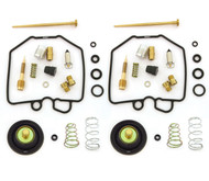 Deluxe Carburetor Rebuild Kit w/ Air Cut Off Valves - Honda CX500 - 1978-1979