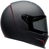 Bell Eliminator Helmet - Vanish Matte Black / Red