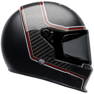 Bell Eliminator Carbon Helmet - RSD The Charge Matte / Gloss Black