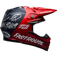 Bell Moto-9 Carbon Flex Helmet - Fasthouse DID Red / Navy