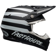 Bell Moto-9 MIPS-Equipped Helmet - Fasthouse Signia Matte Black / White