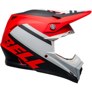 Bell Moto-9 MIPS-Equipped Helmet - Prophecy Matte White / Red / Black
