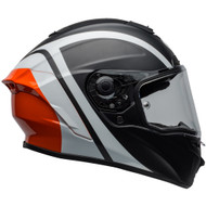 Bell Star MIPS-Equipped DLX Helmet - Tantrum Black / White / Orange