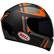 Bell Qualifier DLX MIPS-Equipped Helmet - Torque Matte Black / Orange