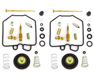 Deluxe Carburetor Rebuild Kit w/ Air Cut Off Valves - Honda CX500 - 1980-1982