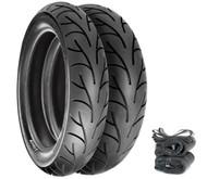 Continental Conti Go! Tire Set - Honda SL350K 69-71 CB500T/550 CB750F 75-78 CB750K 69-76