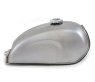 The Skyline Cafe Racer Gas Tank - Raw Steel